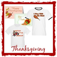 Thanksgiving T-Shirts and Greeting Cards