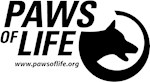 Paws of Life Logo Gear
