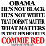 Obama is Commie Red!