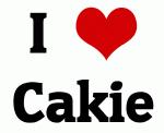 I Love Cakie