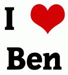 I Love Ben