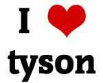 I Love tyson
