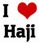 I Love Haji
