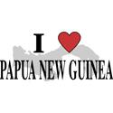 I Love Papua New Guinea Gifts