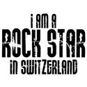 Rock Star in Switzerland T-shirt