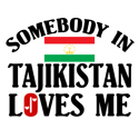 Somebody In Tajikistan T-shirt