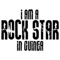 Rock Star In Guinea T-shirt