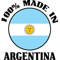 100% Made In Argentina T-shirt