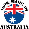 100% Made In Australia T-shirts
