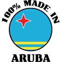 100% Made In Aruba T-shirts