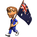3D Australia T-shirt