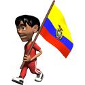 3D Ecuador T-shirt