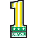 Number 1 Brazil