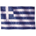 Wavy Greece Flag