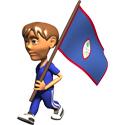 3D Guam T-shirt