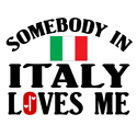 Somebody In Italy T-shirt
