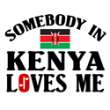 Somebody In Kenya T-shirt
