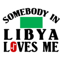 Somebody In Libya T-shirt