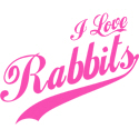 I Love Rabbits T-shirt