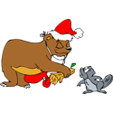Christmas Beaver
