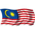 Wavy Malaysia Flag