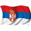 Wavy Serbia Flag