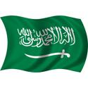 Wavy Saudi Arabia Flag