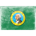 Vintage Washington Flag