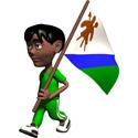 3D Lesotho