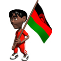 Cute 3D Malawi