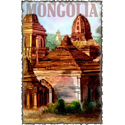 Vintage Mongolia Art