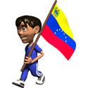 Cute 3D Venezuela