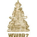 Vintage What Would Buddha Do?