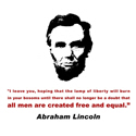Abraham Lincoln T-shirt & Gifts