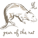 Vintage Year Of The Rat