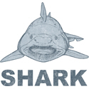 Vintage Shark T-shirt