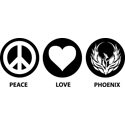 Peace Love Phoenix