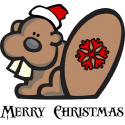 Christmas Beaver