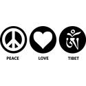 Peace Love Tibet