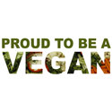 Proud To Be A Vegan Merchandise
