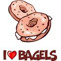 Bagel T-shirt, Bagel T-shirts