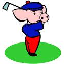 Golfing Pig