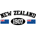 New Zealand 1907