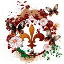 Psychedelic Fleur De Lis