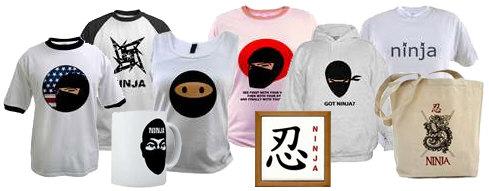 ninja t-shirt, ninja t-shirts, ninja gifts, ninja apparels, ninja mug, ninja mousepad, ninja sweatshirt