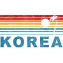 Retro Palm Tree Korea