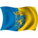 Wavy Santiago Flag