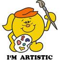 I'm Artistic T-shirt, I'm Artistic T-shirts
