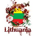 Butterfly Lithuania T-shirt