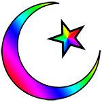 Rainbow Islamic Symbol